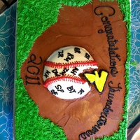 Baseball all buttercream