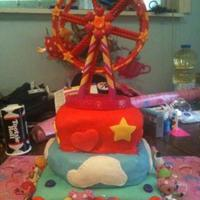Lalaloopsy Birthday Cake!  *I made this cake for my daughter's 6th LaLaLoopsy Birthday party. Bottom cake is chocolate, middle cake is vanilla and top is...
