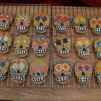 Shortbread Sugar Skulls