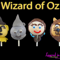 Wizard Of Oz Cake Pops Wizard of Oz Cake Pops