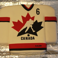Hockey Cake And Cupcakes