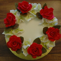 Red Roses, Birthday Cake