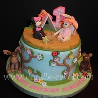 Minnie Mouse Beach Camping Bday