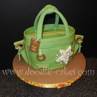 Stylin' Beach Bag Cake