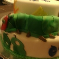 The Very Hungry Caterpillar Cake - For A Baby Shower