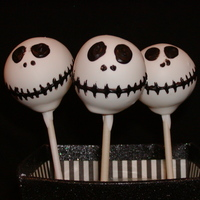 Cake Pops Jack Skellington Cake pops