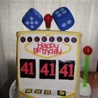 Slot Machine Cake Slot machine cake