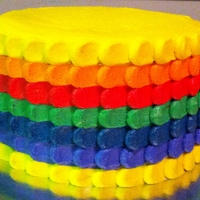 Rainbow Petal Cake inspired by all the ombre petal cakes, I decided to try a rainbow one for a client's teen's birthday. I just realized I...