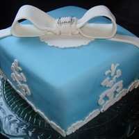 Wedgewood Blue Cake
