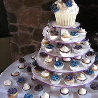 Bridal Shower Cupcake Stand