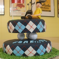 "Michael's ""fore""ty Birthday Cake"