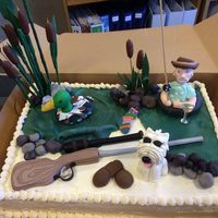 Retirement Cake For A Coworker Retirement cake for a coworker