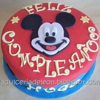 Mickey Mouse Bday Cake