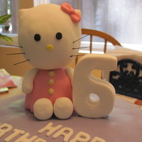 Hello Kitty Hello Kitty cake for a great little girl