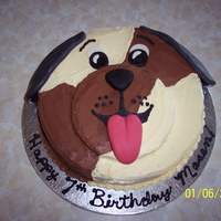 Puppy Cake PUPPY DOG CAKE FOR CHILD'S BIRTHDAY CAKE