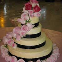 My First Wedding Cake! This is my wedding cake and has inspired me to do many more!