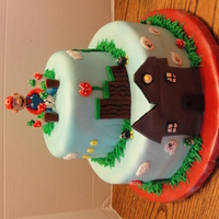 Super Mario Cake Thanks for looking!!!!