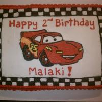 "Cars Cake Buttercream Cars cake made for ""Birthday cakes 4 Free"" organization"