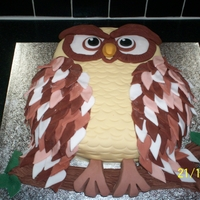 My Favourite Owl Cake Ever