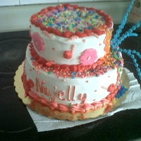 Candy Land vainilla cake,dulces