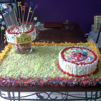 Elmos Party cake d queso crema y red velvet
