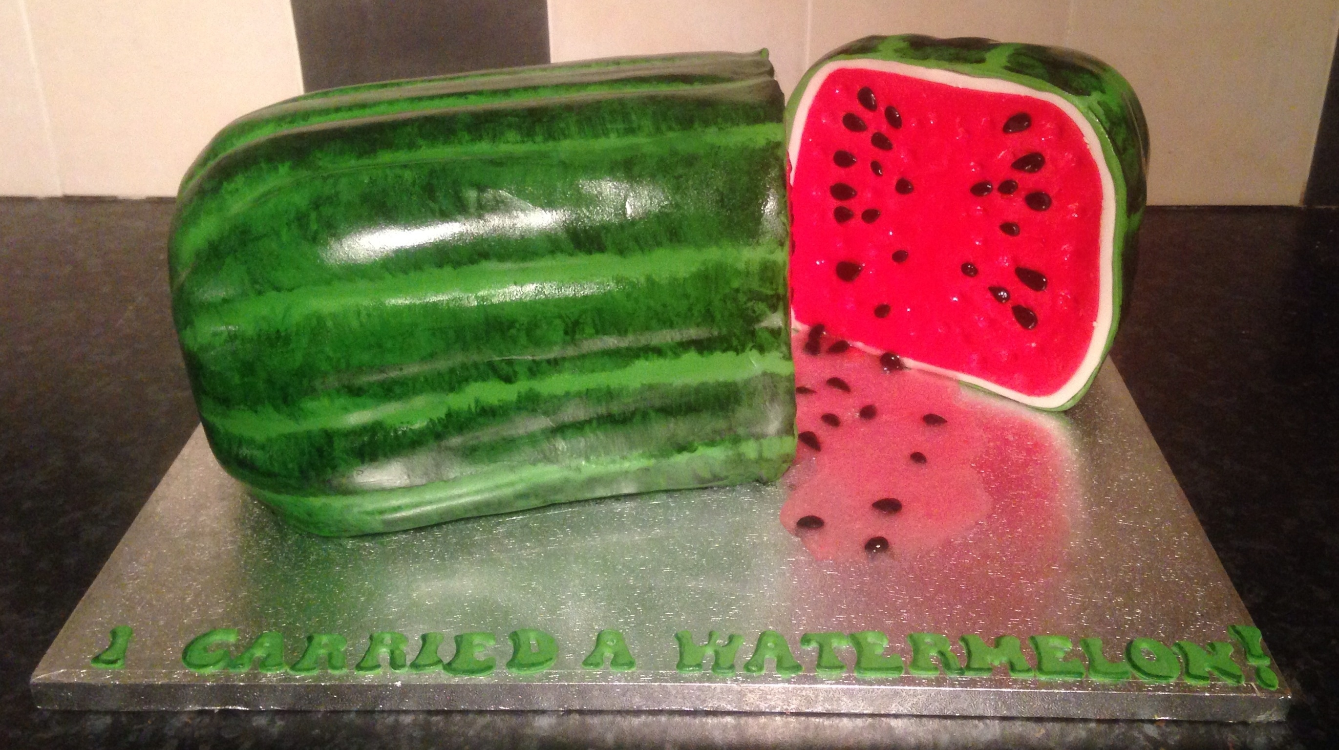 Dirty Dancing Watermelon Cake Dirty dancing watermelon cake