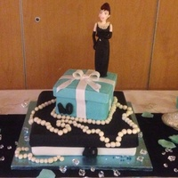 Breakfast At Tiffanys Themed Cake Breakfast at Tiffany's themed cake