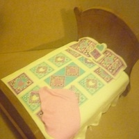 Quilt Bed Retirement Cake
