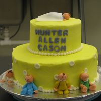 Sister's Baby Shower Made for my sister's baby shower. Adapted from a Wilton book.