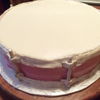 Snare Drum   buttercream with gumpaste and fondant accents