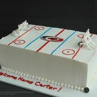 Special Spaces Hockey Cake