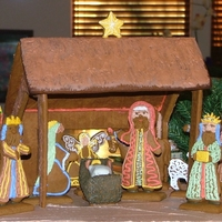 Gingerbread Nativity This is a fun and different project for Christmas - and helps bring the focus back to the Reason!