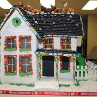 Victorian Farm House My second Gingerbread House! It was for a contest at work, but only 2 people including myself entered. And there were 2 prizes so I guess I...