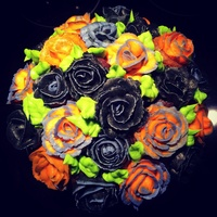 Halloween Cupcake Bouquet Halloween cupcake bouquet