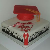 Congratulations To Blake!!!! Graduation Cake