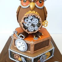 Steam Punk Owl Made this cake for the contest at Taart en Trends in the Netherlands. We came in second and got lots of great comments, we're very...