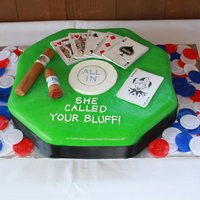 Surprise Poker Groom's Cake