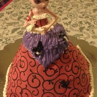 Children's Birthday Cakes Monster High-Draculaura