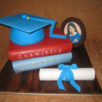 High School Graduation   High school graduation cake inspired by Sharon Zambito.