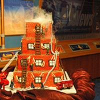 Firehouse Cake 2006 My pictures all disappeared from my account, so I am reposting some that were original. Made in 2006.