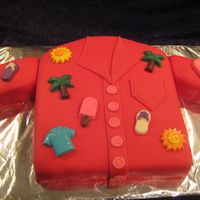 Hawaiian Birthday My Boss has this red Hawaiian shirt that he wears often so I made him a shirt cake for his birthday. This was a rush job and not a good as...