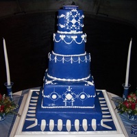 Wedgwood China Wedding Cake