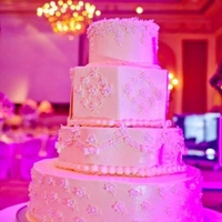 Mix Match was a very simple cake really but the lighting made all the difference