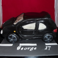 Car Cake First attempt at a carved (and a car) cake. It was meant to be a Peugeot 206 but hey ho! At least it tasted nice!!