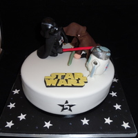 Star Wars Cake Firstly a big thank you to kbruneau for her help with Darth, although it's not a patch on hers!I really struggled with this one,...