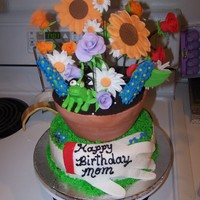 Birthday Flower Pot