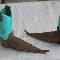 Cowboy Boots   2011 tulsa sugar art showcowboy bootstook 3 rd place
