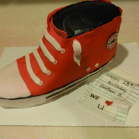 Chuck Taylors   Converse shoe for a 13th birthday