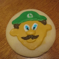 Luigi From Super Mario Brothers.