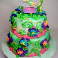 Tinkerbell Birthday Cake Made this for my niece's 2nd birthday this past weekend. She loved it!
